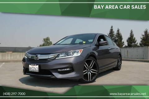 2017 Honda Accord for sale at BAY AREA CAR SALES in San Jose CA
