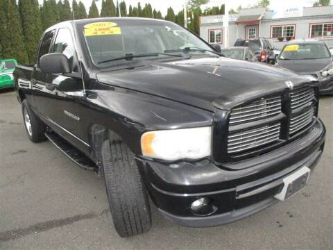 2002 Dodge Ram Pickup 1500 for sale at GMA Of Everett in Everett WA