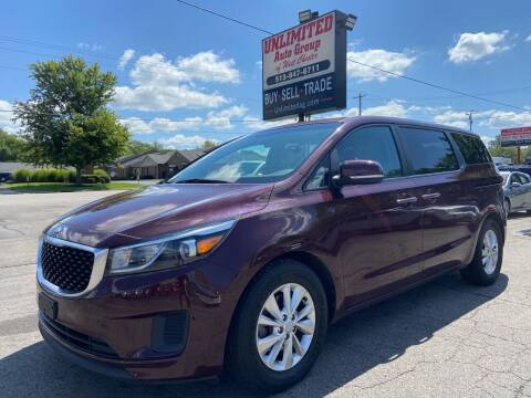 2017 Kia Sedona for sale at Unlimited Auto Group in West Chester OH