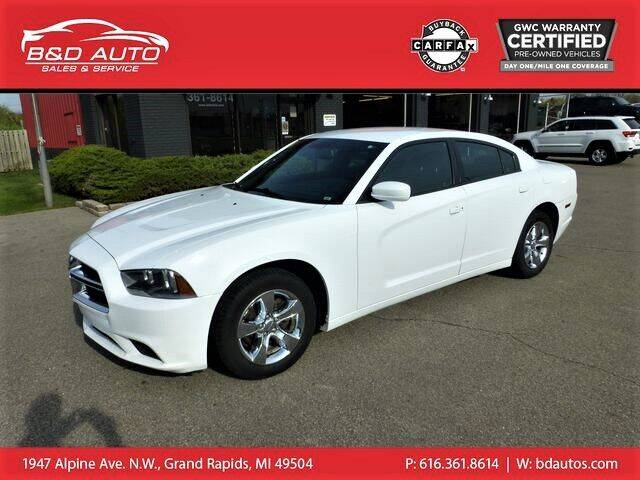 2014 Dodge Charger for sale at B&D Auto Sales Inc in Grand Rapids MI