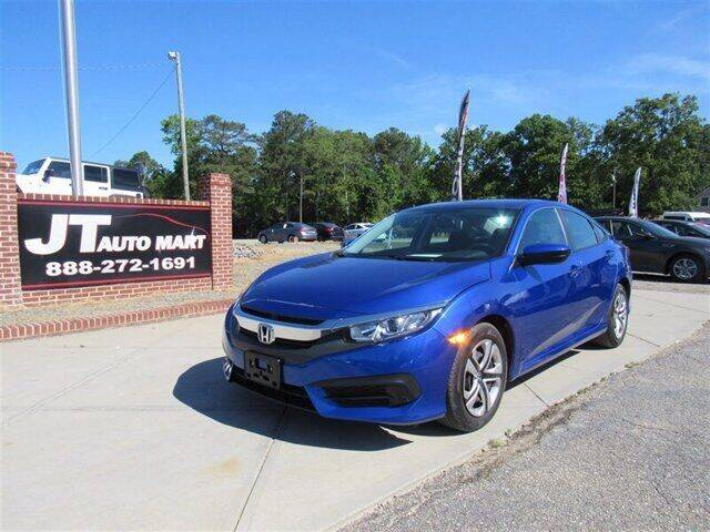 2018 Honda Civic for sale at J T Auto Group in Sanford NC