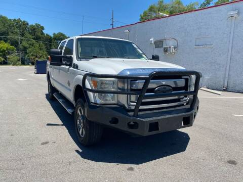 2011 Ford F-250 Super Duty for sale at LUXURY AUTO MALL in Tampa FL