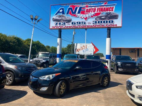 2016 Hyundai Veloster for sale at ANF AUTO FINANCE in Houston TX