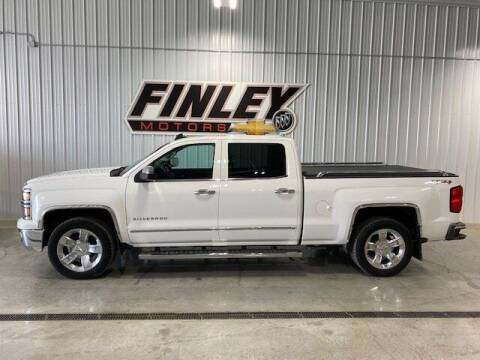 2015 Chevrolet Silverado 1500 for sale at Finley Motors in Finley ND
