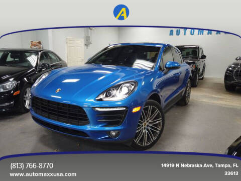 2016 Porsche Macan for sale at Automaxx in Tampa FL