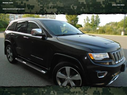 2015 Jeep Grand Cherokee for sale at Master Auto in Revere MA