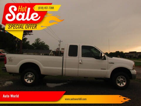 2006 Ford F-250 Super Duty for sale at Auto World in Carbondale IL