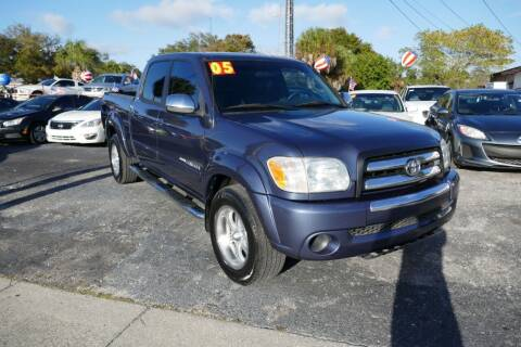 2005 Toyota Tundra for sale at J Linn Motors in Clearwater FL