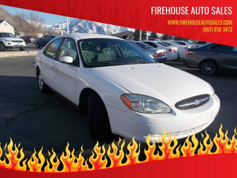 2003 Ford Taurus for sale at Firehouse Auto Sales in Springville UT