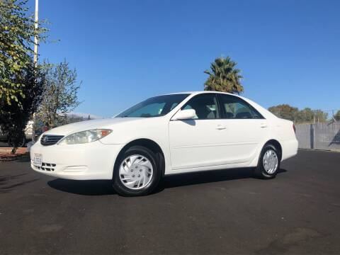 2005 Toyota Camry for sale at BOARDWALK MOTOR COMPANY in Fairfield CA
