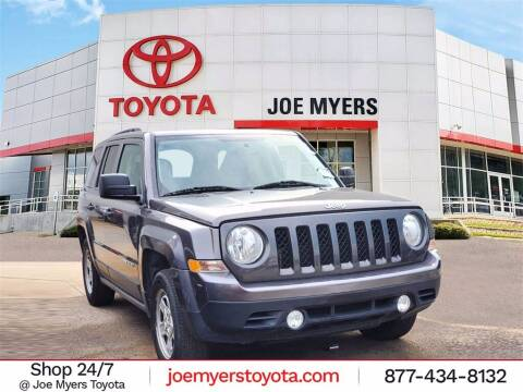 2016 Jeep Patriot for sale at Joe Myers Toyota PreOwned in Houston TX