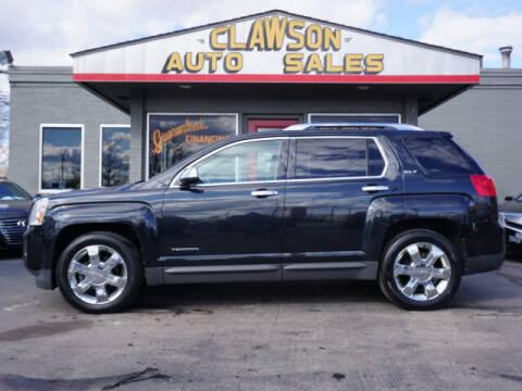 2012 GMC Terrain for sale at Clawson Auto Sales in Clawson MI