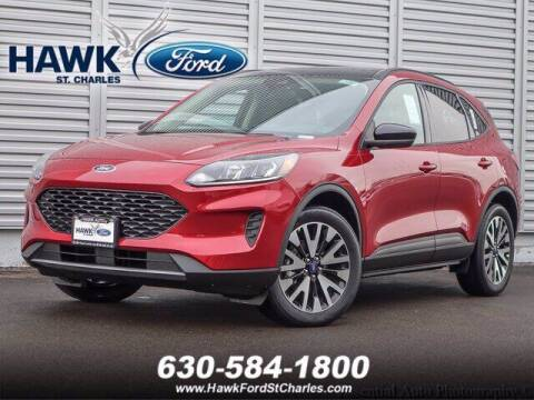 2020 Ford Escape Hybrid for sale at Hawk Ford of St. Charles in St Charles IL