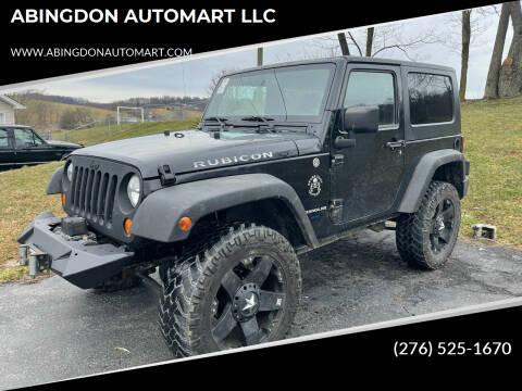 2007 Jeep Wrangler for sale at ABINGDON AUTOMART LLC in Abingdon VA