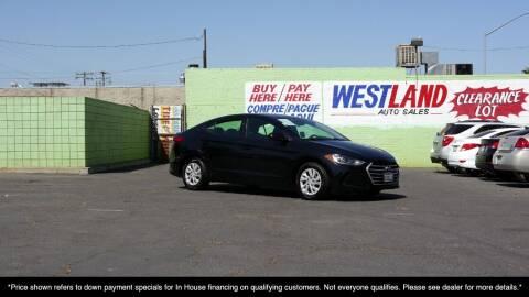 2018 Hyundai Elantra for sale at Westland Auto Sales in Fresno CA