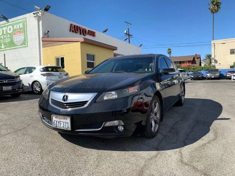 2012 Acura TL for sale at Auto Ave in Los Angeles CA