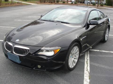 2005 BMW 6 Series for sale at Uniworld Auto Sales LLC. in Greensboro NC
