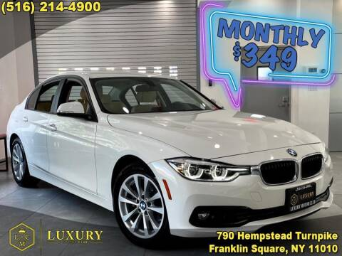 2018 BMW 3 Series for sale at LUXURY MOTOR CLUB in Franklin Square NY