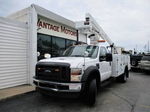 2008 Ford F-550 Super Duty for sale at Vantage Motors LLC in Raytown MO