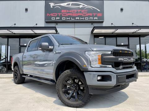 2020 Ford F-150 for sale at Exotic Motorsports of Oklahoma in Edmond OK