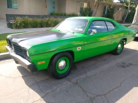 1973 Plymouth Duster for sale at Classic Car Deals in Cadillac MI