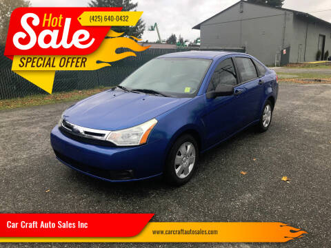 2011 Ford Focus for sale at Car Craft Auto Sales Inc in Lynnwood WA