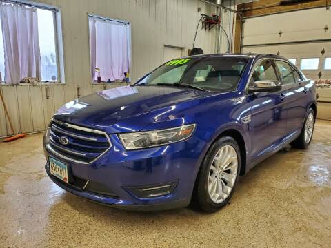 2015 Ford Taurus for sale at Sand's Auto Sales in Cambridge MN