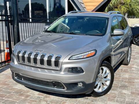 2014 Jeep Cherokee for sale at Unique Motors of Tampa in Tampa FL