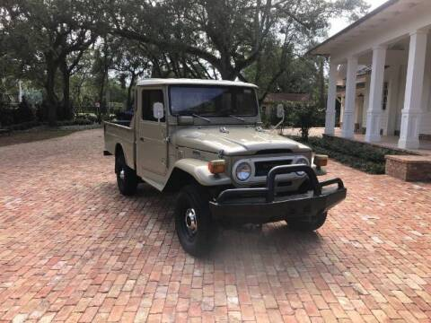 1975 Toyota Land Cruiser for sale at Classic Car Deals in Cadillac MI