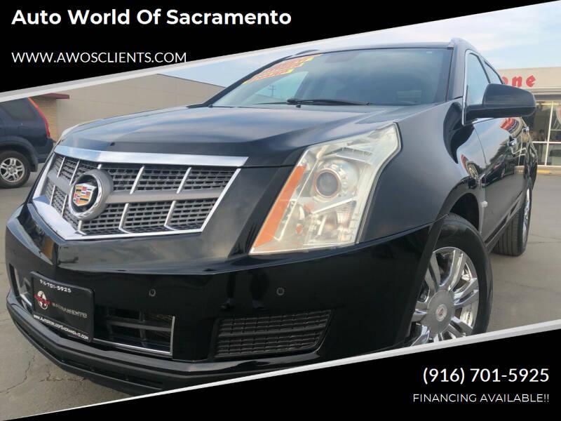 2010 Cadillac SRX for sale at Auto World of Sacramento Stockton Blvd in Sacramento CA