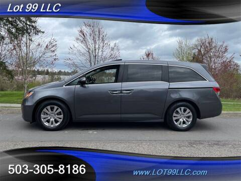 2016 Honda Odyssey for sale at LOT 99 LLC in Milwaukie OR