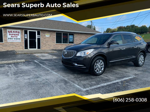 2014 Buick Enclave for sale at Sears Superb Auto Sales in Corbin KY