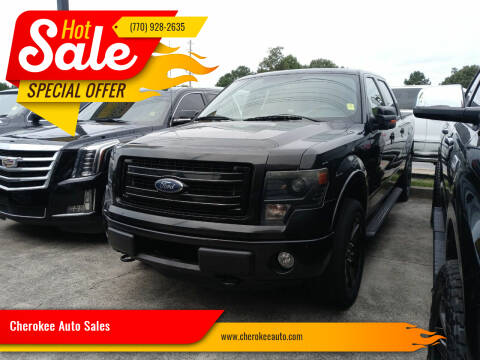 2013 Ford F-150 for sale at Cherokee Auto Sales in Acworth GA