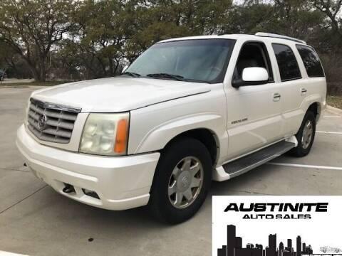 2003 Cadillac Escalade for sale at Austinite Auto Sales in Austin TX