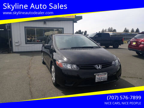 2007 Honda Civic for sale at Skyline Auto Sales in Santa Rosa CA