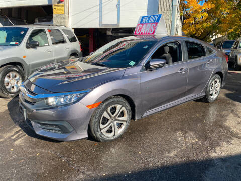 2016 Honda Civic for sale at White River Auto Sales in New Rochelle NY