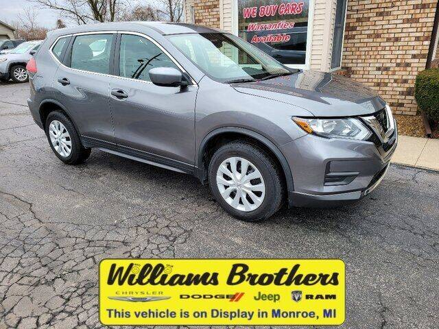 2017 Nissan Rogue for sale at Williams Brothers - Pre-Owned Monroe in Monroe MI