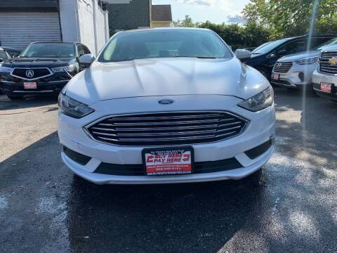 2017 Ford Fusion for sale at Buy Here Pay Here Auto Sales in Newark NJ