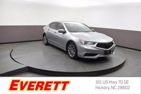 2018 Acura TLX for sale at Everett Chevrolet Buick GMC in Hickory NC