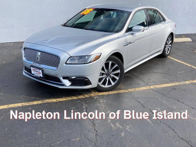 2018 Lincoln Continental for sale in Blue Island, IL