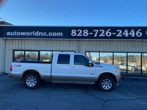 2012 Ford F-250 Super Duty for sale at AutoWorld of Lenoir in Lenoir NC