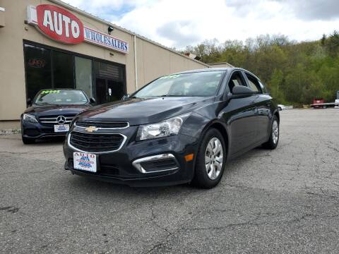 2016 Chevrolet Cruze Limited for sale at Auto Wholesalers Of Hooksett in Hooksett NH