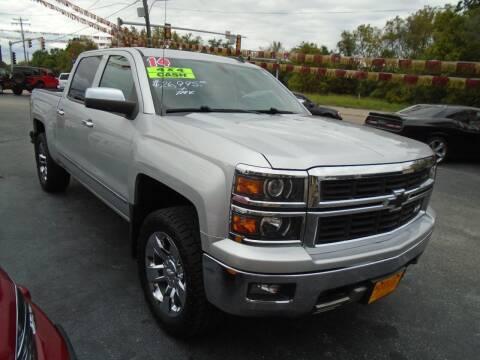 2014 Chevrolet Silverado 1500 for sale at River City Auto Sales in Cottage Hills IL