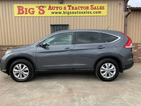 2012 Honda CR-V for sale at BIG 'S' AUTO & TRACTOR SALES in Blanchard OK