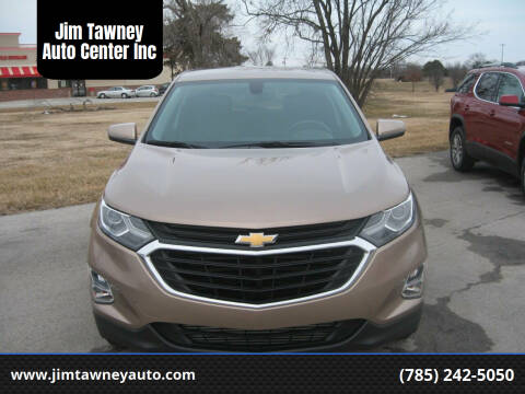 2018 Chevrolet Equinox for sale at Jim Tawney Auto Center Inc in Ottawa KS