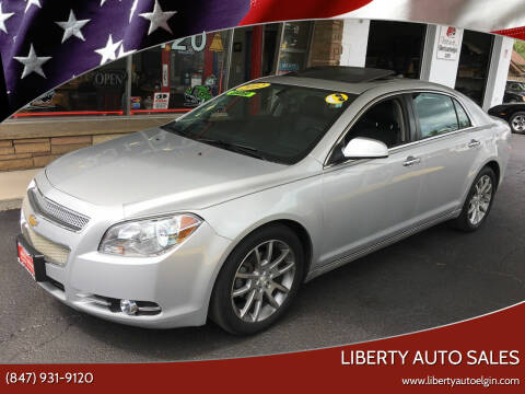 2012 Chevrolet Malibu for sale at Liberty Auto Sales in Elgin IL