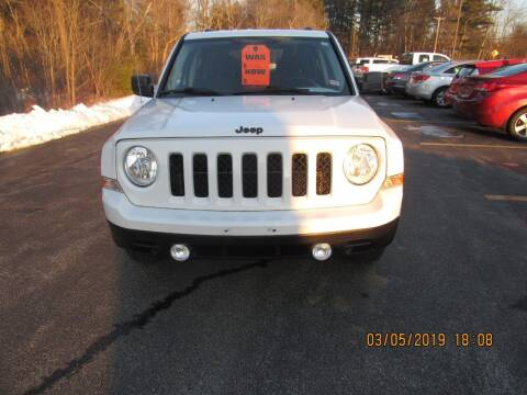 2013 Jeep Patriot for sale at Heritage Truck and Auto Inc. in Londonderry NH