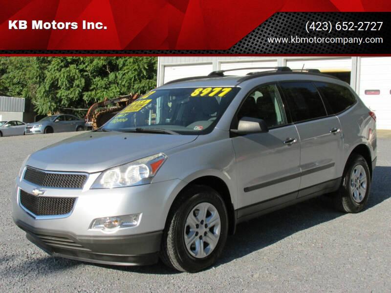 2012 Chevrolet Traverse for sale at KB Motors Inc. in Bristol VA