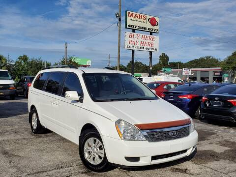 2012 Kia Sedona for sale at Mars auto trade llc in Kissimmee FL