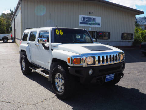 2006 HUMMER H3 for sale at Crestwood Auto Sales in Swansea MA